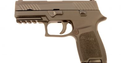 Details on the U.S. Army's new Sig Sauer M17 Sidearm